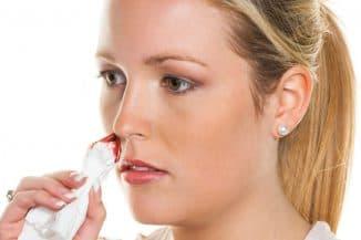 почему кровь из носа идёт