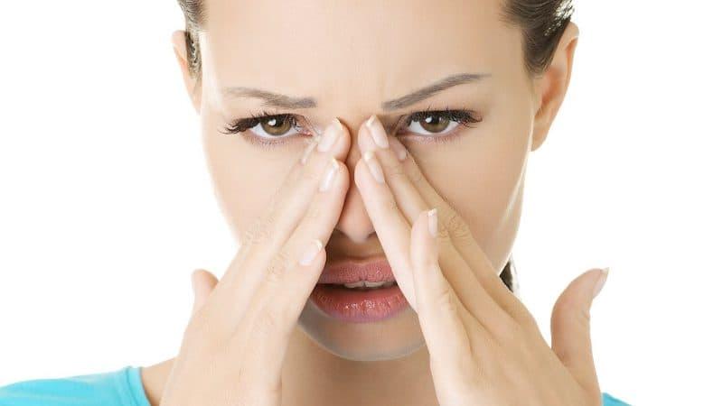 Сухость и заложенность носа без насморка
