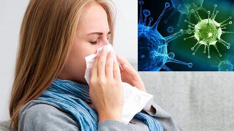 Насморк это вирус или бактерия