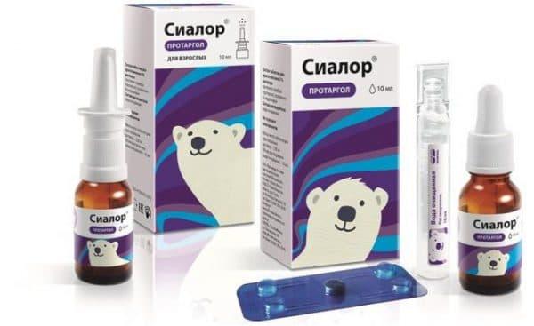 Препараты для лечения насморка у взрослых
