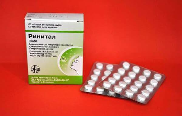 Ринитал – инструкция по применению таблеток, цена, отзывы, аналоги