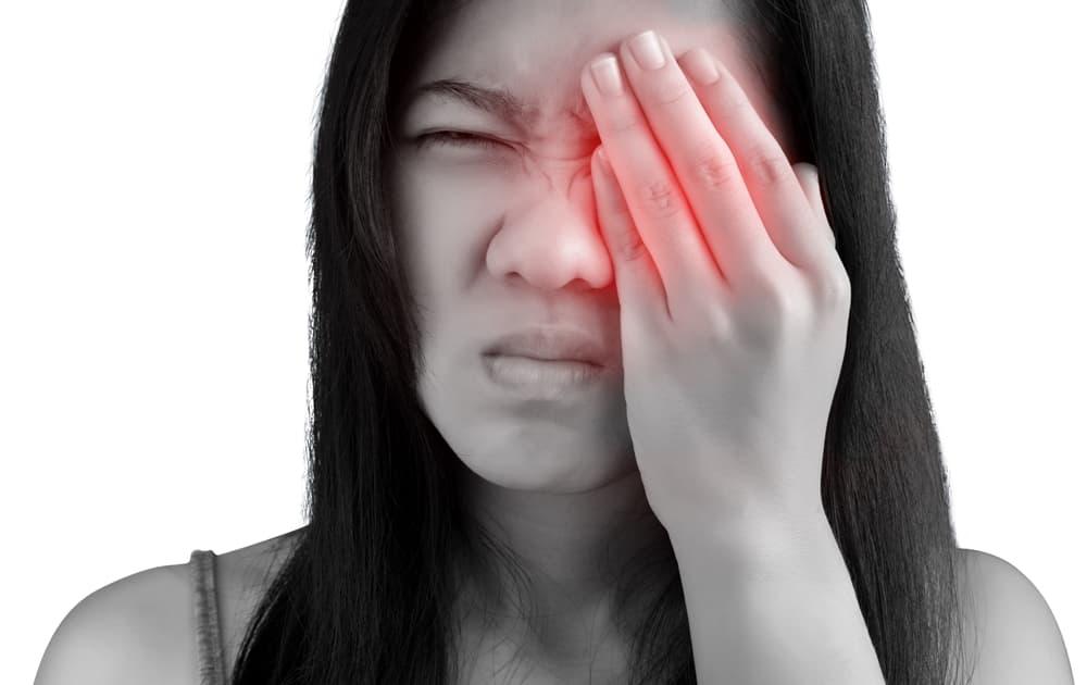 Болит пазуха носа под глазом что делать