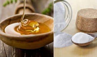 мед сода и масло от гайморита