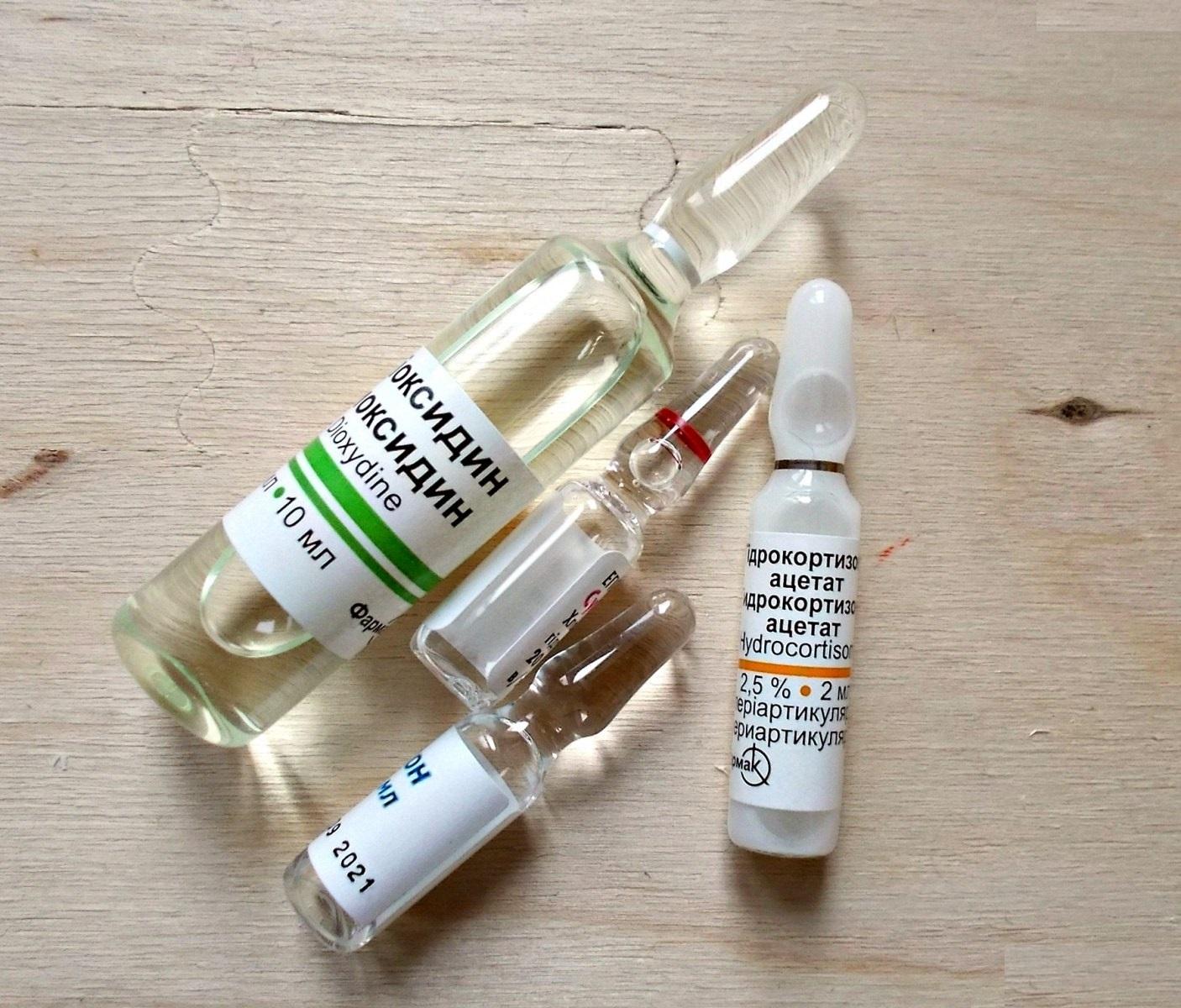 Сложные капли при аллергическом рините